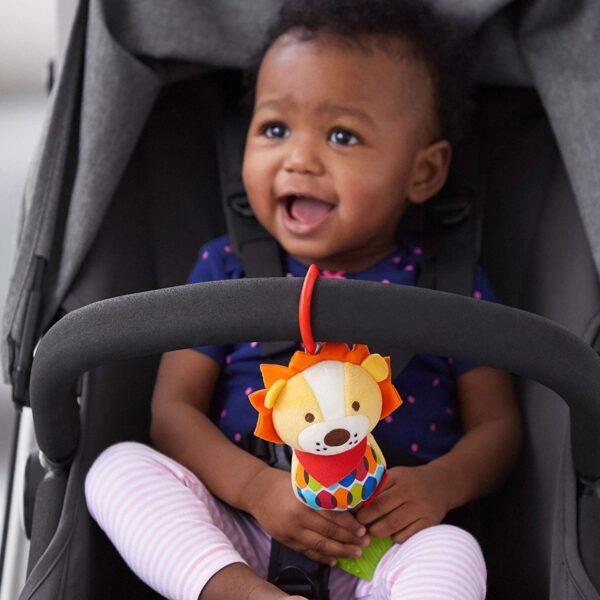 Baby Gifts Bandana Buddies Chime & Teethe Toy Pitter Patter Baby NI 8