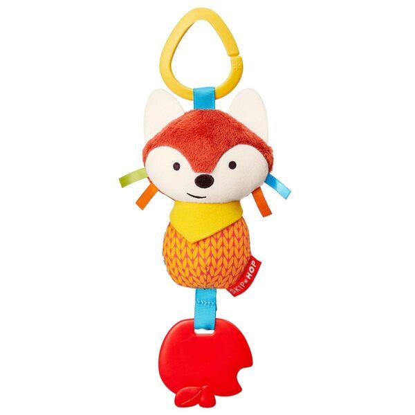 Baby Gifts Bandana Buddies Chime & Teethe Toy Pitter Patter Baby NI 10