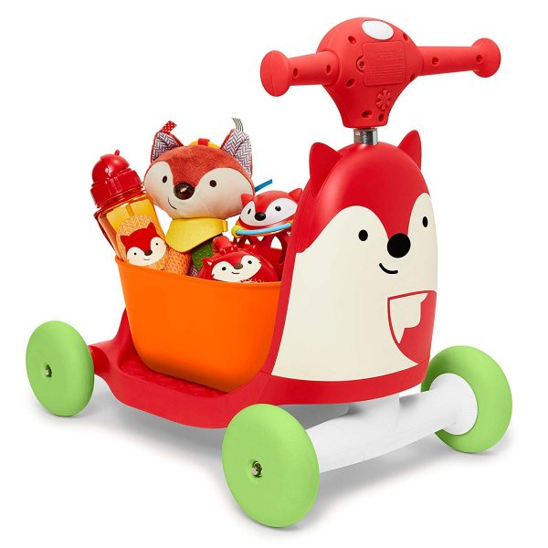 Ride On toys Skip Hop Zoo 3 in 1 Ride On Fox Toy Pitter Patter Baby NI 5