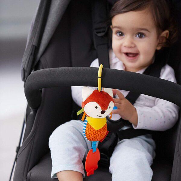 Baby Gifts Bandana Buddies Chime & Teethe Toy Pitter Patter Baby NI 5
