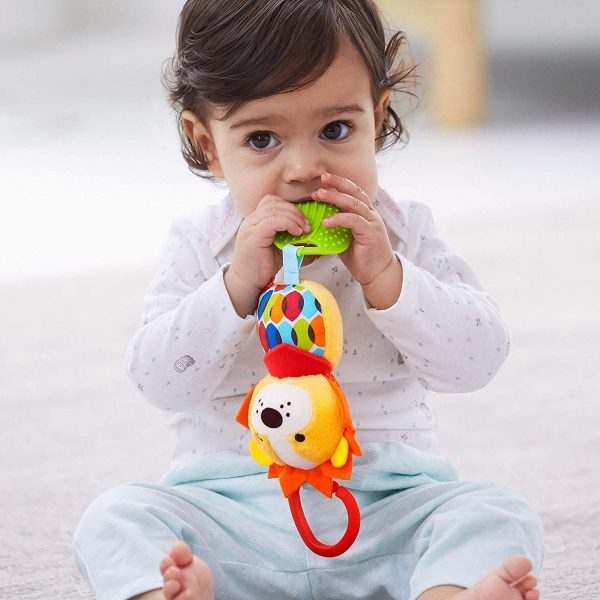 Baby Gifts Bandana Buddies Chime & Teethe Toy Pitter Patter Baby NI 6