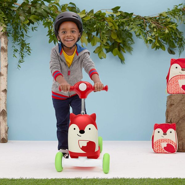 Ride On toys Skip Hop Zoo 3 in 1 Ride On Fox Toy Pitter Patter Baby NI 7