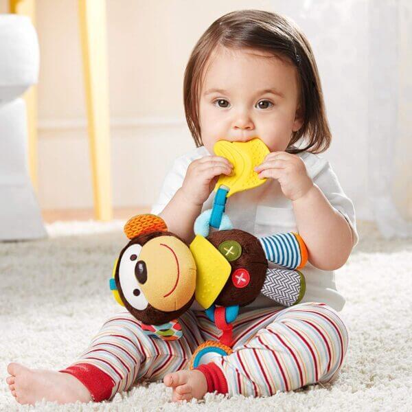 Baby Gifts Bandana Buddies Activity Toy Pitter Patter Baby NI 9