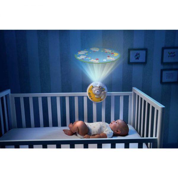 Night Lights & Cot Mobiles Chicco Next2Moon Projector Pitter Patter Baby NI 7