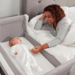 Cribs & Next2Me Cribs Shnuggle Air Bedside Crib Pitter Patter Baby NI 5