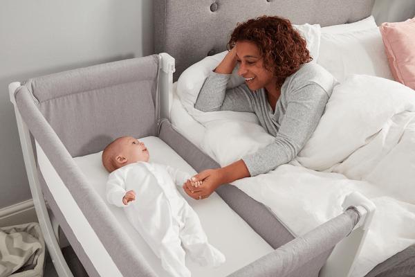 Cribs & Next2Me Cribs Shnuggle Air Bedside Crib Pitter Patter Baby NI 7