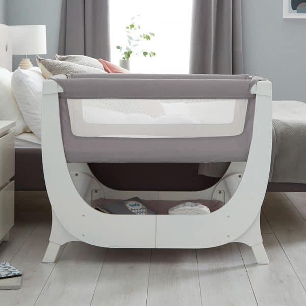 Cribs & Next2Me Cribs Shnuggle Air Bedside Crib Pitter Patter Baby NI 4