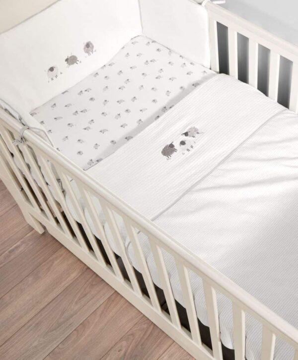 Bedding Sets Sheep & Me 4 Piece Bedding Set Pitter Patter Baby NI 3
