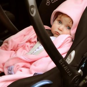 Pink Baby Star Wrap