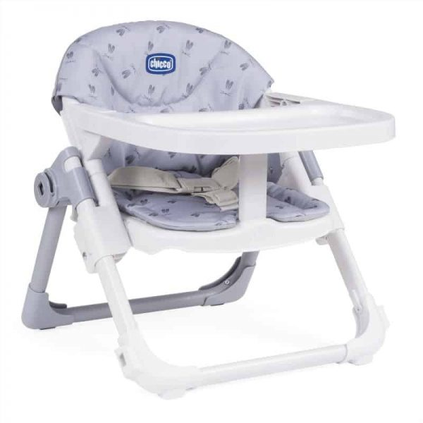 Highchairs Chicco Chairy Booster Seat – Bunny (Grey) Pitter Patter Baby NI 4