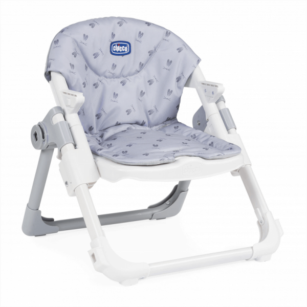 Highchairs Chicco Chairy Booster Seat – Bunny (Grey) Pitter Patter Baby NI 10