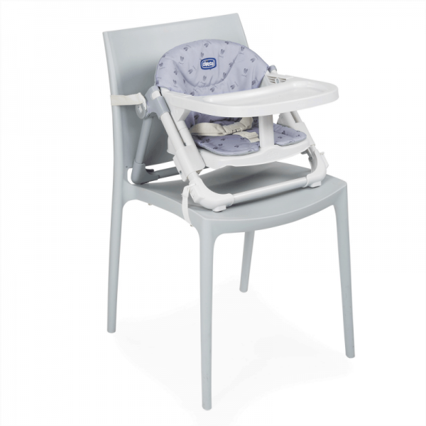 Highchairs Chicco Chairy Booster Seat – Bunny (Grey) Pitter Patter Baby NI 11