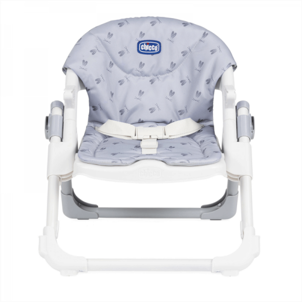 Highchairs Chicco Chairy Booster Seat – Bunny (Grey) Pitter Patter Baby NI 12