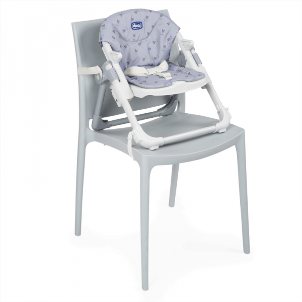 Highchairs Chicco Chairy Booster Seat – Bunny (Grey) Pitter Patter Baby NI 14
