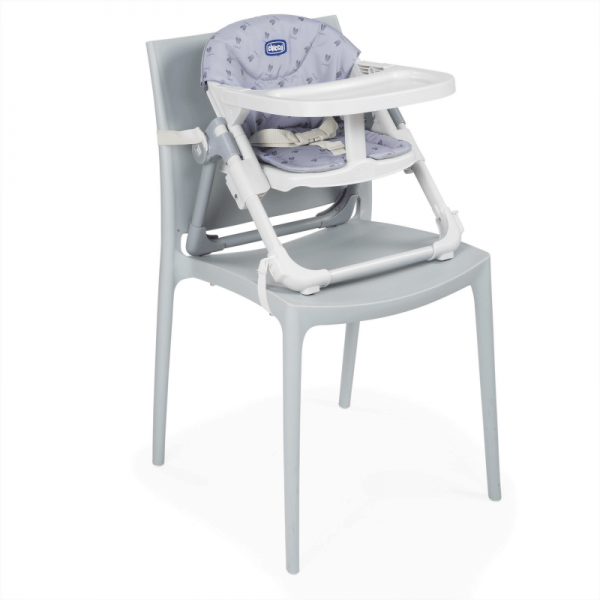 Highchairs Chicco Chairy Booster Seat – Bunny (Grey) Pitter Patter Baby NI 15