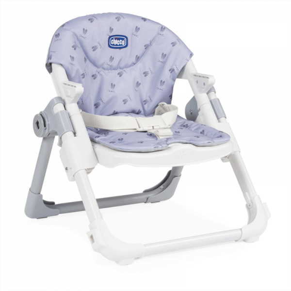 Highchairs Chicco Chairy Booster Seat – Bunny (Grey) Pitter Patter Baby NI 8