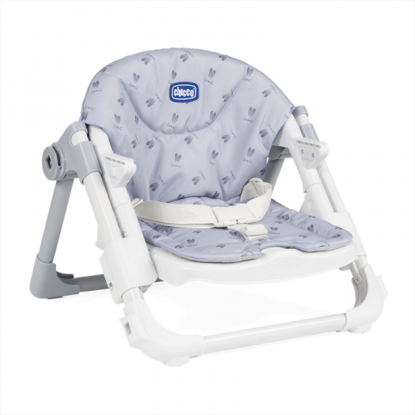 Highchairs Chicco Chairy Booster Seat – Bunny (Grey) Pitter Patter Baby NI 9