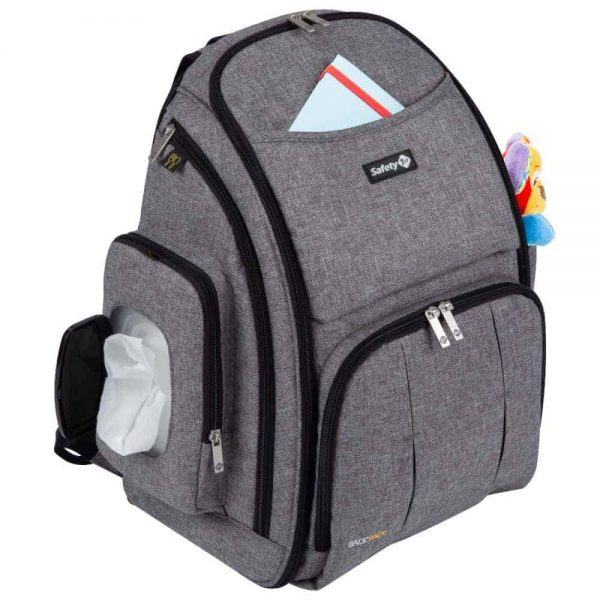Changing Bags Safety 1st Backpack Changing bag – Grey Pitter Patter Baby NI 4