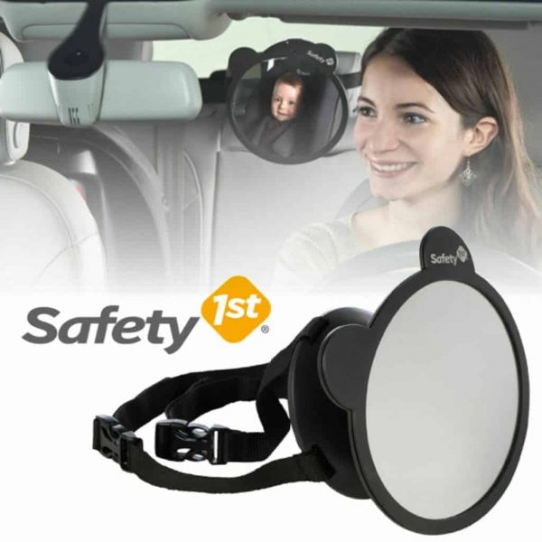 Carseat Accessories & Isofix Bases Safety 1st Back Seat Car Mirror Pitter Patter Baby NI 4