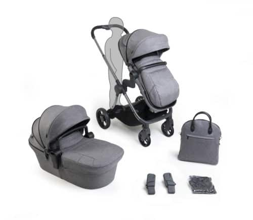 Travel Systems Lime Lifestyle – Phantom Charcoal Pitter Patter Baby NI 7