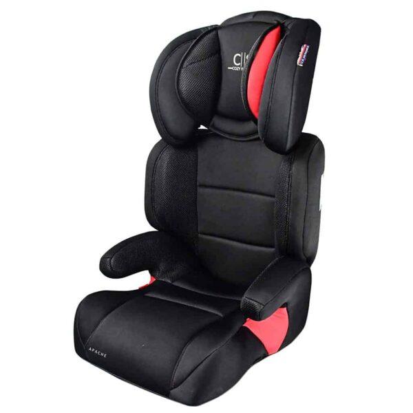 Child 4yrs - 12 yrs Cozy N Safe Apache Group 2/3 Child Car Seat Pitter Patter Baby NI 5