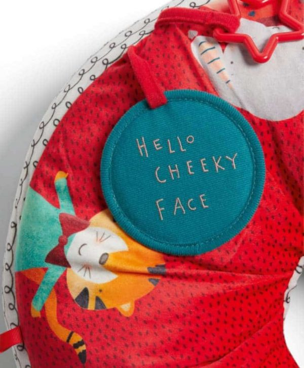 Toys Activity Snugglerug – Cheeky Faces Pitter Patter Baby NI 8