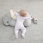 Tummy Time Snugglerug – Elephant & Baby