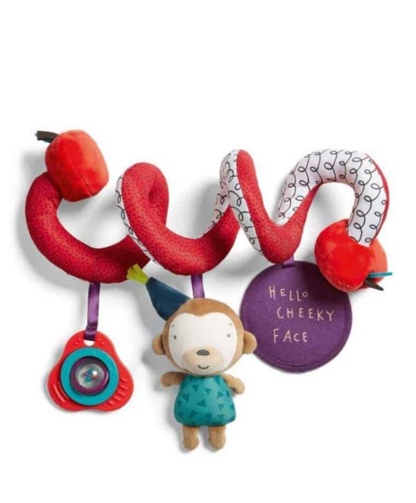 Toys Travel Toy – Spiral Cheeky Faces Pitter Patter Baby NI 4