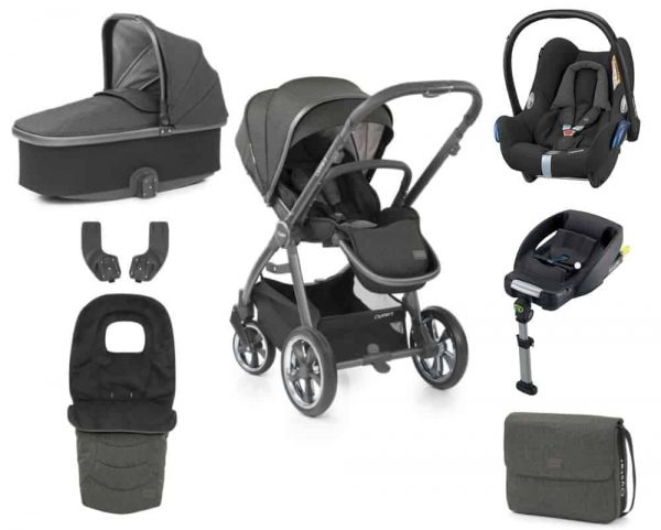 Babystyle Oyster BabyStyle Oyster 3 Luxury Bundle – City Grey / Pepper Pitter Patter Baby NI 4