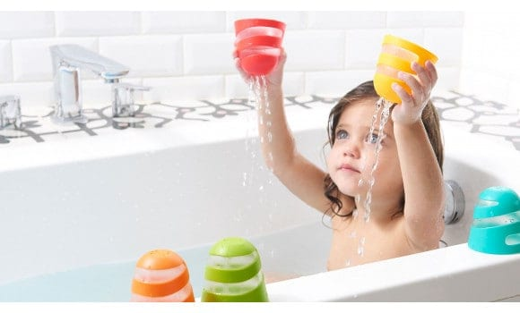 Bath Toys & Supports Tiny Love Spiral Cups Bath Toy Pitter Patter Baby NI 4