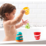 Bath Toys & Supports Tiny Love Spiral Cups Bath Toy Pitter Patter Baby NI 3