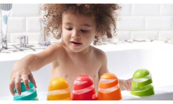 Bath Toys & Supports Tiny Love Spiral Cups Bath Toy Pitter Patter Baby NI 7