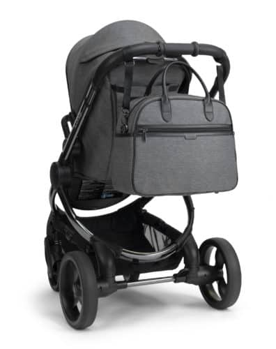Travel Systems Peach Pushchair and Carrycot Grey Twill on Phantom Pitter Patter Baby NI 14