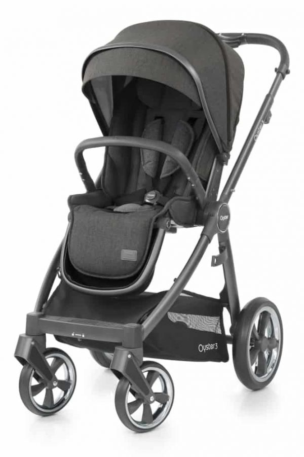 Babystyle Oyster BabyStyle Oyster 3 Luxury Bundle – City Grey / Pepper Pitter Patter Baby NI 6