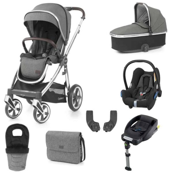 Travel Systems Babystyle Oyster 3 Mercury Mirror Luxury Bundle Pitter Patter Baby NI 4