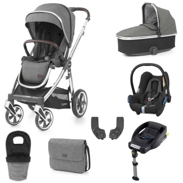 Travel Systems Babystyle Oyster 3 Mercury Mirror Luxury Bundle Pitter Patter Baby NI 6