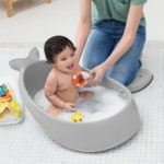 Moby Bath Smart Sling 3Stage Bathtub Grey