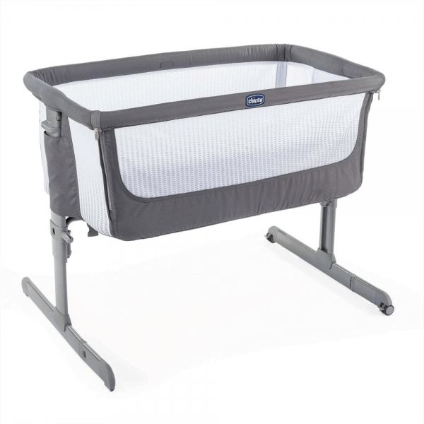 Cribs & Next2Me Cribs Chicco Next2Me Air Bedside Crib Sleeptime Bundle Pitter Patter Baby NI 6