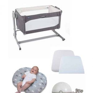 Cribs & Next2Me Cribs Chicco Next 2 Me Magic Bundle Pitter Patter Baby NI