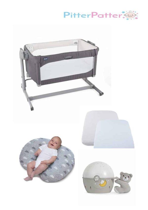 Cribs & Next2Me Cribs Chicco Next 2 Me Magic Bundle Pitter Patter Baby NI 4