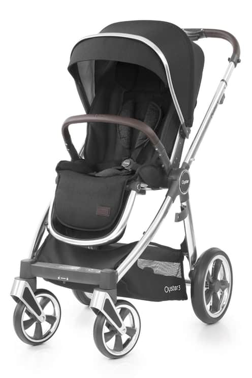 Travel Systems Babystyle Oyster 3 Caviar Luxury Bundle Pitter Patter Baby NI 6
