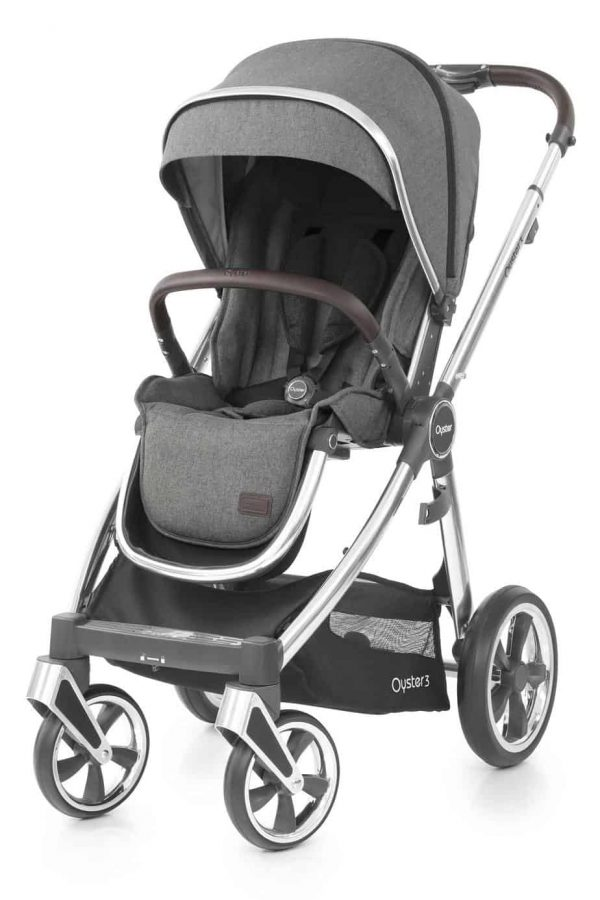 Travel Systems Babystyle Oyster 3 Mercury Mirror Luxury Bundle Pitter Patter Baby NI 10