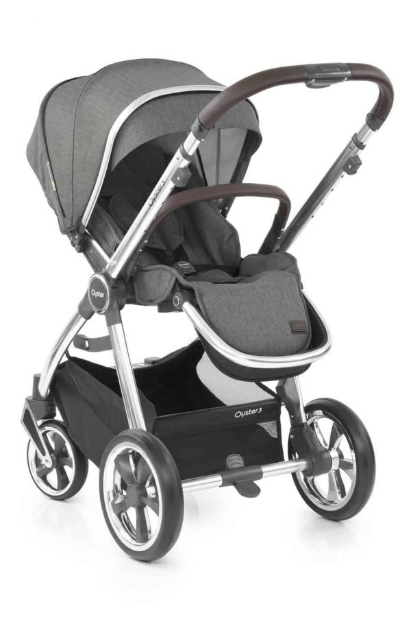 Travel Systems Babystyle Oyster 3 Mercury Mirror Luxury Bundle Pitter Patter Baby NI 11