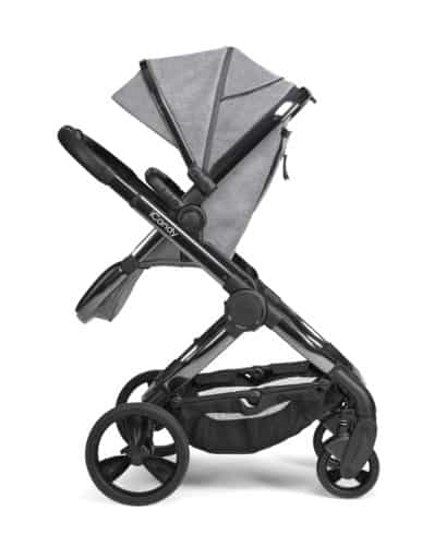 Travel Systems Peach Pushchair and Carrycot – Phantom Light Grey Check Pitter Patter Baby NI 6