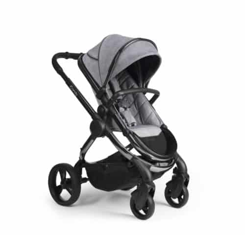 Travel Systems Peach Pushchair and Carrycot – Phantom Light Grey Check Pitter Patter Baby NI 7