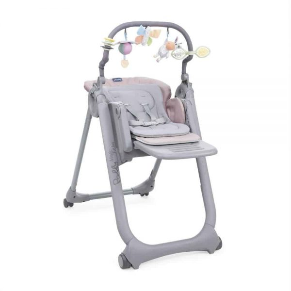 Highchairs Chicco Polly Magic Relax Highchair (Paradise Pink) Pitter Patter Baby NI 7