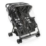 Chicco Ohlala Twin Stroller (Black Night)