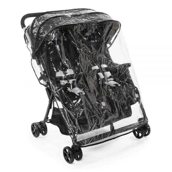 Buggies & Strollers Chicco Ohlala Twin Stroller (Black Night) Pitter Patter Baby NI 6