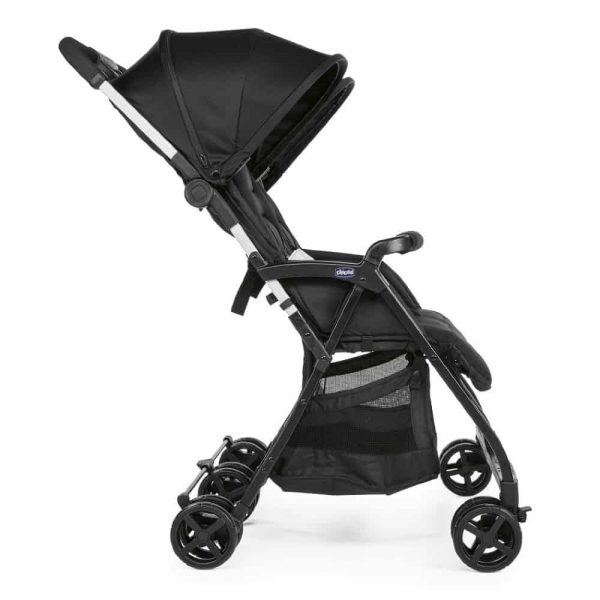 Buggies & Strollers Chicco Ohlala Twin Stroller (Black Night) Pitter Patter Baby NI 7