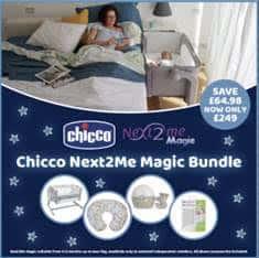Cribs & Next2Me Cribs Chicco Next 2 Me Magic Bundle Pitter Patter Baby NI 9